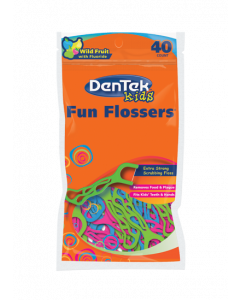 Dentek Fun Flossers Colourful Wires and Fruity Wires