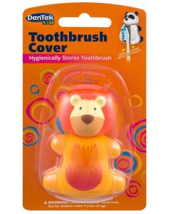 Dentek Toothbrush Protector Kids Lion Penguin Safe storages Against Bacterias