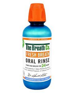 The Breath Co. Oral Rinse Plus Icy mint Citrus Menhtol Bad Breath
