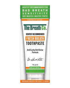 The Breath Co. Toothpaste NO SLS Active Oxygene Cavities Sensitivity
