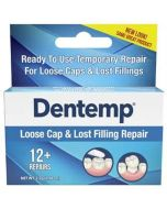 Dentemp Emergency Filling dentise approved loose caps and lose fillings